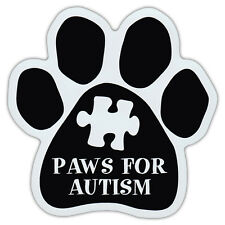 Dog Paw Shaped Car Magnet - Paws For Autism - Dog Walk/Run Support Event