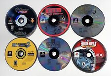 PLAYSTATION 1 PS1 VIDEO GAME LOT UM JAMMER LAMMY TONKA SPACE STATION TEST DRIVE