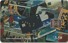 TK Phonecard Alaska $3.50 Collage of Chip & Stored Value Phone Cards