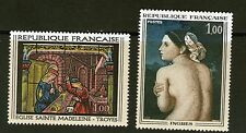 TIMBRES 1530-1531 NEUF XX LUXE - OEUVRES D' ART