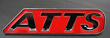 ATTS Chrome Badge Emblem Logo Red Fit For Honda Prelude