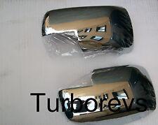 Nuevo Totalmente Cromado ala Puerta Espejo Cubre Tapas Para Range Rover Sport Descubrimiento