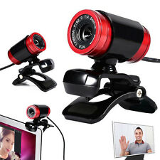 30fps USB 50 Megapixel HD Camera Web Cam Mic 360° Clip-on for PC Computer Laptop