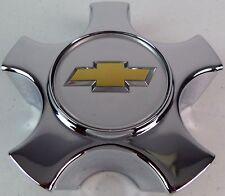 """OEM GM Center Hub Wheel Cap Cover 5 Spoke Chrome fits 15"""" 5 Spoke Wheels Rims"""