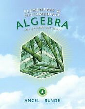 Elementary & Intermediate Algebra for College Students (4th Edition) (The Angel