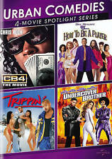 4-Movie DVD Urban Comedies CB4 /Trippin /UNDERCOVER BROTHER/ How to be a Player