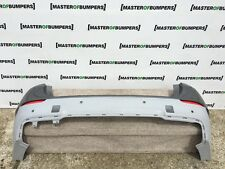 BMW X1 M SPORT E84M 2011-2015 REAR BUMPER IN GREY GENUINE [B584]