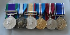 GSM NI, Cyprus, Iraq, Jubilee, Police LSGC, Full Size Court Mounted Medals