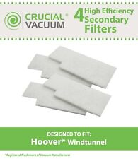 4 Hoover WindTunnel Secondary Vacuum Filters 38765-019 38765019 38765023