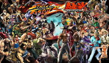 "34 Street Fighter x Tekken - Hot Capcom Game 24""x14"" Poster"