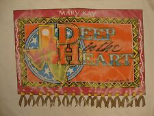 Vintage Mary Kay Deep In The Heart Of Texas Seminar '94 Makeup T Shirt XL