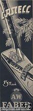 Füller Faber Castell Reklame Weihnachten 1935  ad pen pencil