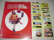 WORLD CUP 1970 MEXICO 70 - Empty Album + set of stickers 100% Complete!