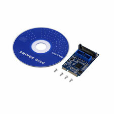 Mini PCI-Express PCI-E to USB 3.0 19pin Header Card Adapter For Win 7 8 LJ