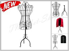 Scrolling Metal Dress Body Form Stand Mannequin Adjustable Designers Sturdy Iron