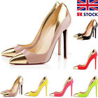 MIX COLOR WOMENS HIGH HEELS SHOES POINTED CORSET STILETTO PUMPS COURT SIZE 2-9