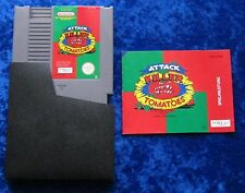 Attack of the Killer Tomatoes, Anleitung, Nintendo NES Spiel