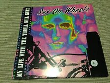 "MY LIFE WITH THE THRILL KILL KUT - SEX ON WHEELZ 7"" SINGLE INDUSTRIAL EBM - 92"