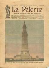 Tour-Lanterne morts Plateau de Notre-Dame de Lorette France 1925 ILLUSTRATION