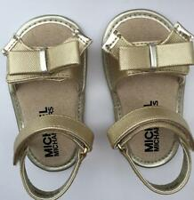 Michael Kors baby joy kierra sandals $39 new in box size 1 gold 6 weeks - 3 mos