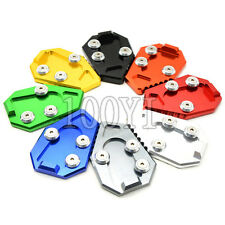 8 Colors Motorcycle CNC Aluminum Side Stand Plate Enlarge For HONDA CB1000R