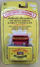 Matchbox Originals 1992 No. 5 The London Bus Mint in Sealed Package