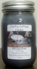 16 oz Hand Poured Soy Candle Witches Brew.FREE SHIPPING