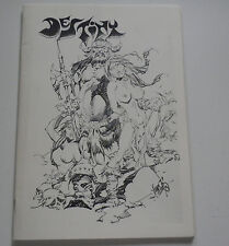 Destiny Fanzine Tim Kirk Alex Nino Fabian Good Girl Neal Adams Art Rare