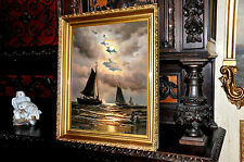 Good Quality old Ships  oil Painting