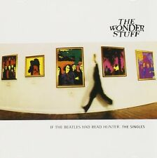 The Wonder Stuff Singles CD NEW SEALED Size Of A Cow/Don't Let Me Down, Gently+