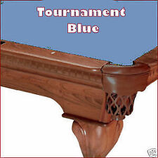 8' Tournament Blue ProLine Classic TEFLON Billiard Pool Table Cloth Felt