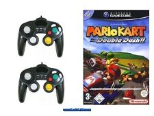 ## Mario Kart Double Dash (Deutsch) + 2 Control Pads Nintendo GameCube - TOP ##