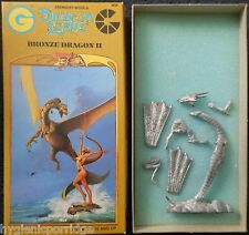 1989 Bronze Dragon 2 Lords Grenadier Models 9609 Dungeons & Dragons AD&D Wyrm