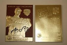 AARON RODGERS 2005 Draft Pick FEEL THE GAME Gold Card Football Textured * BOGO *