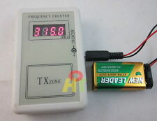 RF Frequency  250-450MHZ Detector Cymometer Meter Scanner Counter remote control