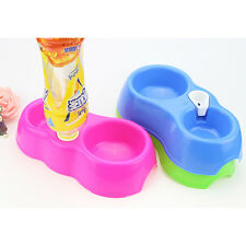 Dog Cat Puppy Pet Automatic Water Feeder Water Drinking Dispenser Food Dish Bowl