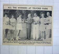 1960 All Winners At Telford Park Ltc Rasmussen Berry Tomkins Summers Mcmurray
