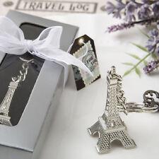 50 Eiffel Tower Key Chain Favor Wedding Favors Bridal Shower Favor Paris Theme