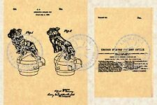 1932 Patent for the MACK TRUCK BULLDOG Hood Ornament #079.5