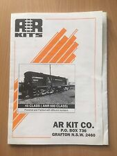 AR Kit Co. Brocure & Price List Model Trains Very Good Condition