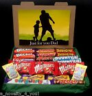 Large Just For You Dad Gift Chocolate Box Hamper Personalised Birthday Fathers