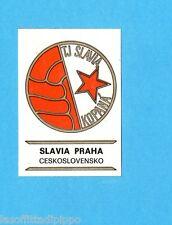 FOOTBALL CLUBS-PANINI 1975-Figurina n.55- SLAVIA PR.-CECOSLOVACCHIA-SCUDETTO-Rec