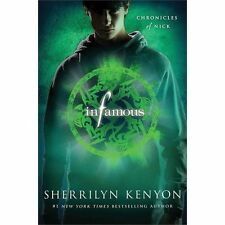 NEW Infamous Chronicles of Nick Series Book 3 by Sherrilyn Kenyon 2013 Paperback