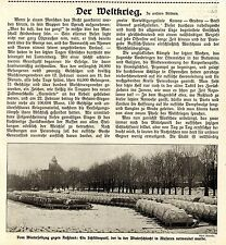 Winterschlacht in Masuren * Deutscher Schlittenpark * Bilddokument 1915