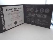 SCI-FI ACADEMY DIPLOMA BOX & Emblem PIN EVENT GIFT 2011 DISNEYLAND NEW
