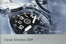Mercedes Classic Selection Katalog 2009 Modellautos Uhren Fashion Miniaturen