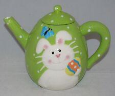 """burton+Burton Ceramic 4 Cup Teapot Tea Pot 5.8"""" BENJY BUNNY"""