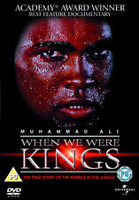 MUHAMMAD ALI - WHEN WE WERE KINGS - DVD - REGION 2 UK