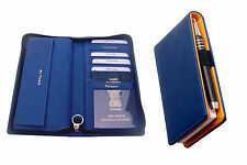 Combo.passport holder,cheque book holder,plus note pad with pen & pad 1 free pad