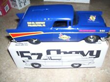 SUNOCO GAS OIL 1957 57 CHEVY CHEVROLET NOMAD CAR 1995 ERTL STOCK #GI-2006 A